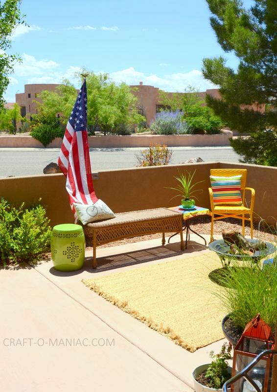 bright colorful porch decor17