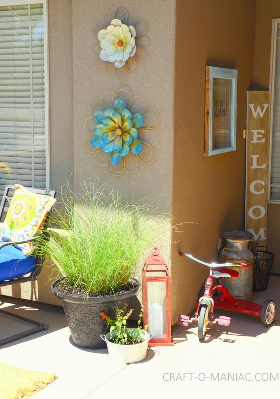 bright colorful porch decor4