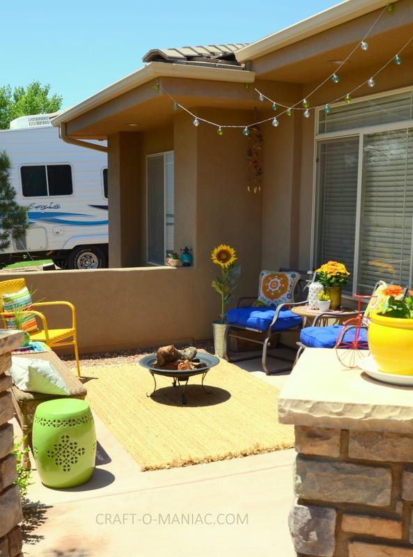 bright colorful porch decor5