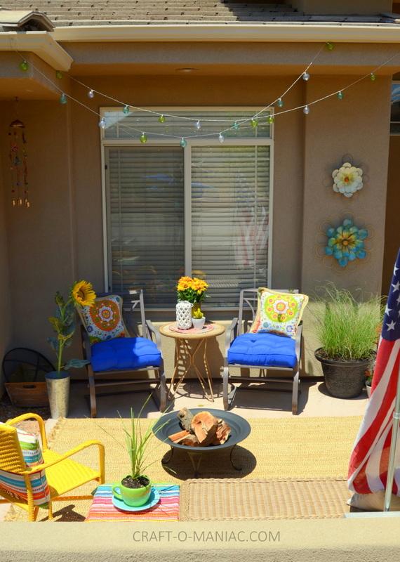 bright colorful porch decor8
