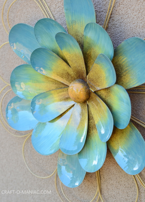 bright porch decor flower