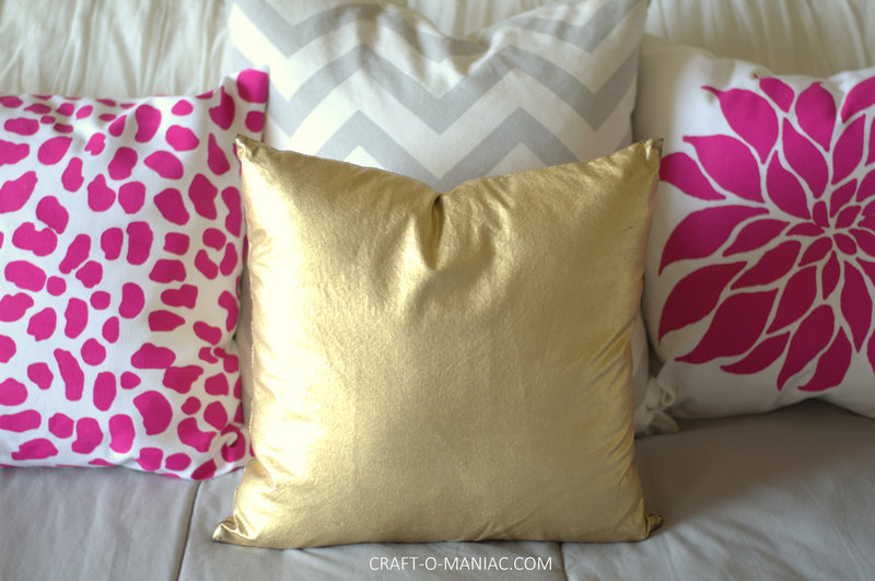 paint a pillow bed