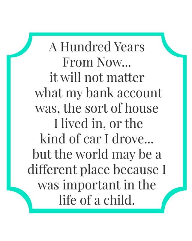 life of a child printable teal