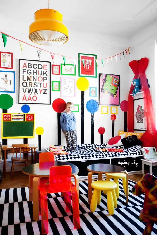 colorful kids rooms1