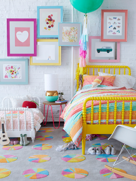 10 colorful kids bedrooms craft o maniac - Colorful room for kids ...