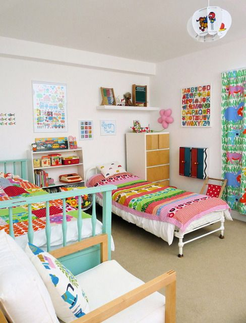 colorful kids rooms8