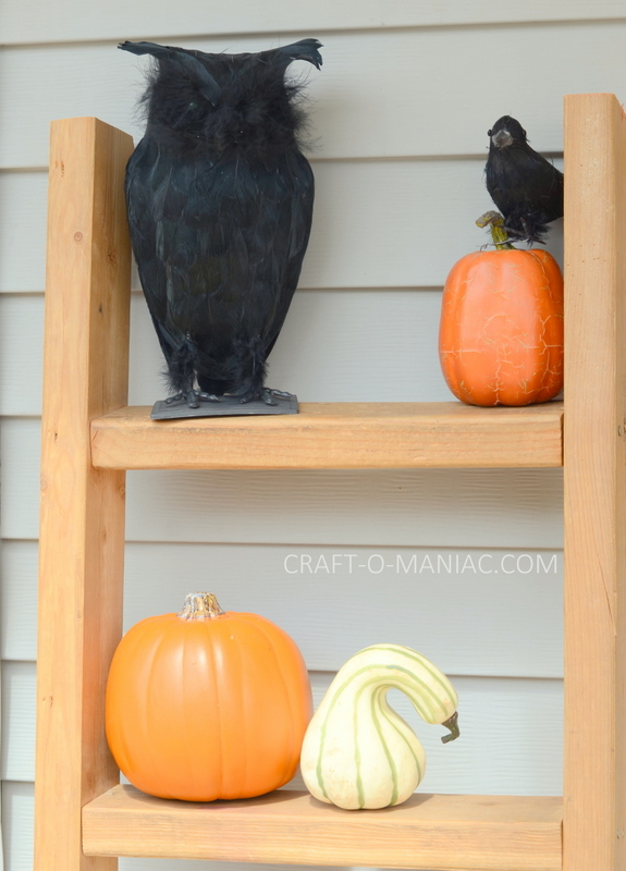 halloween porch spooky owl