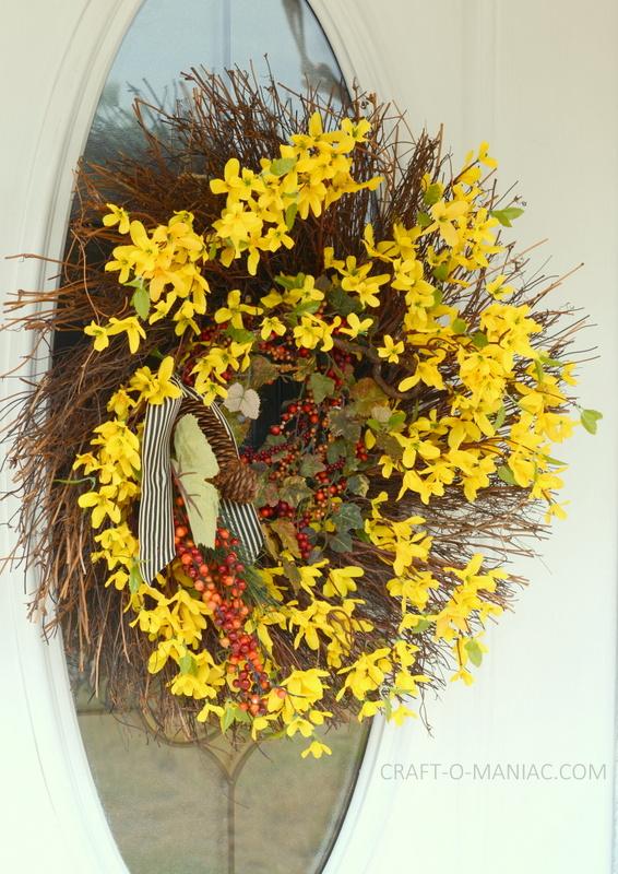 halloween porch wreath