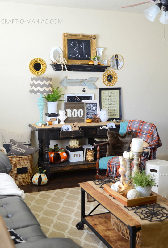 halloween home decor tour13
