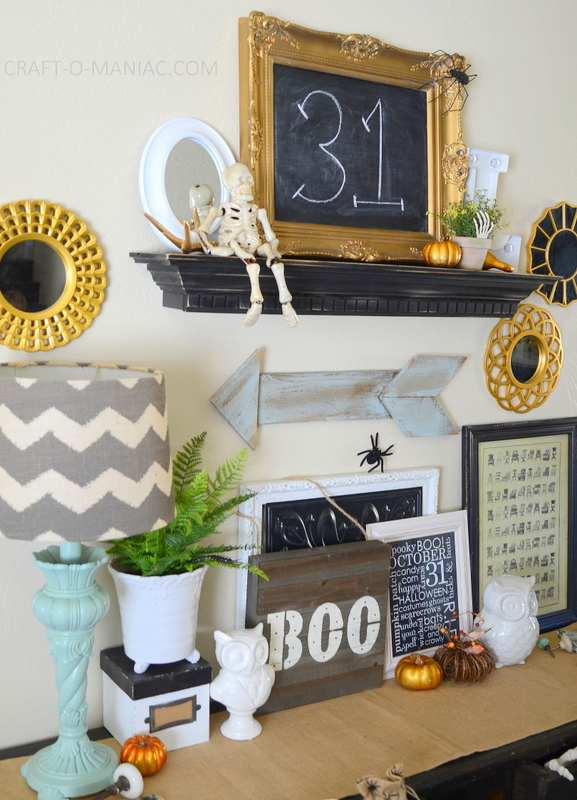 halloween home decor tour14