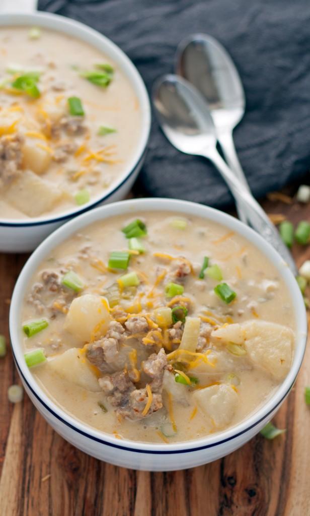 cc sausage potatoe soup