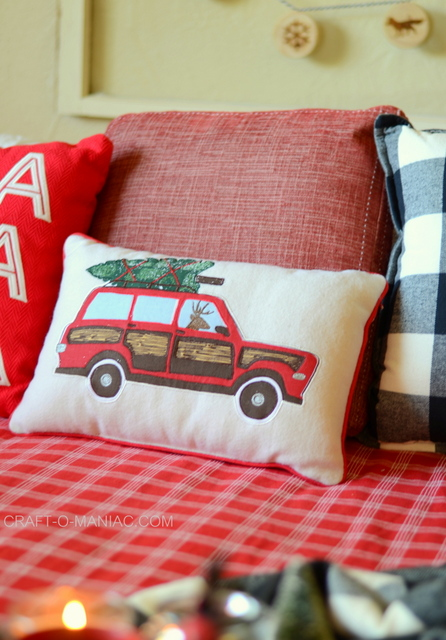 cozy plaid christmas bedding2
