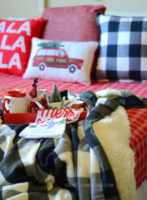 cozy plaid christmas bedding4