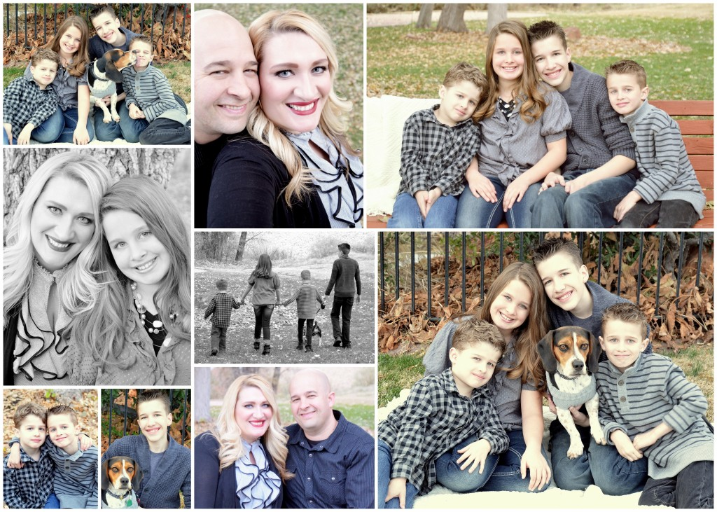 family christmas collage 2015