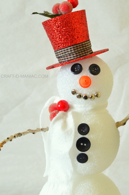 frosty the foam ball snowman6