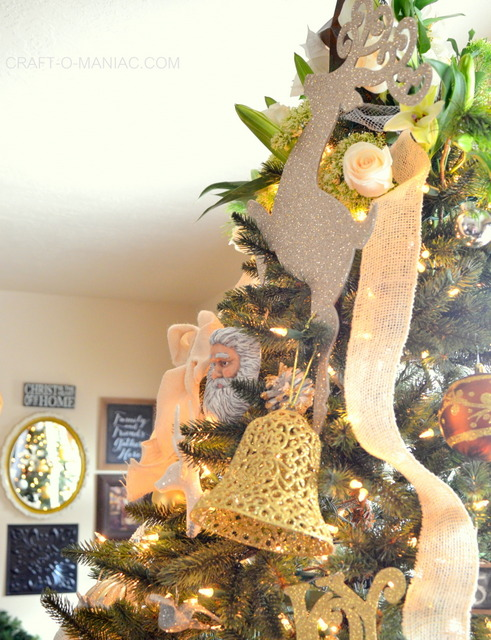 gold and cream christmas tree15