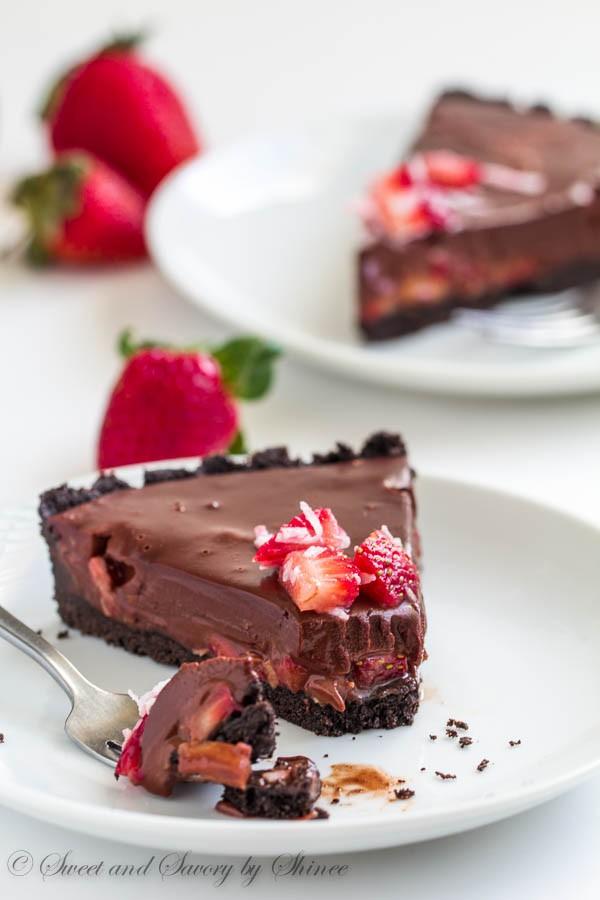 cc new chocolate strawberry cake