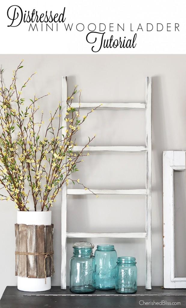 cc new diy wood ladder