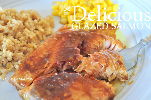 tender glazed salmon recipe