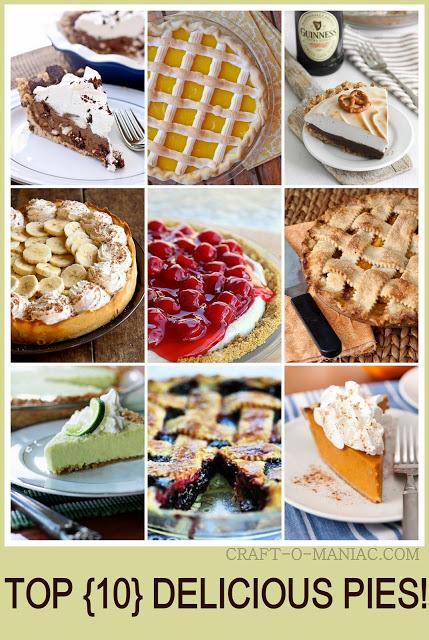 top 10 delicious pies