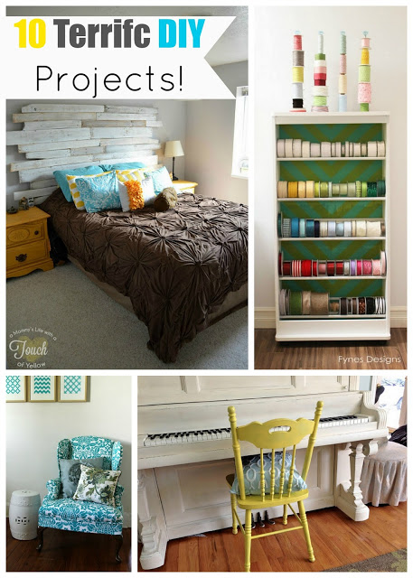 10 teriffic diy projects