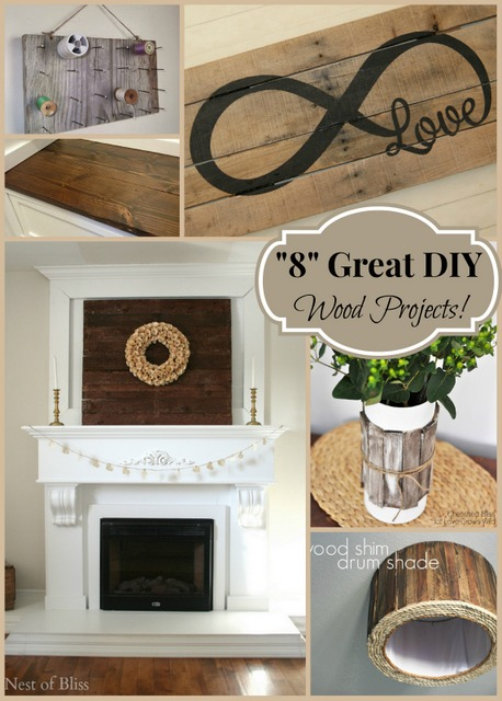 8 Great Diy Wood Projects