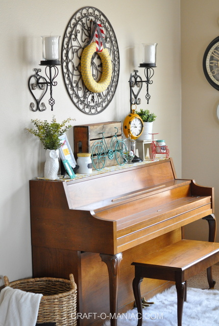 bicycle piano decor full