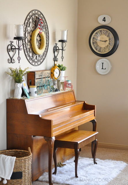 bicycle piano decor fulllove