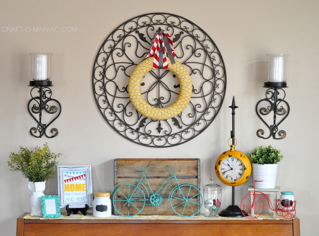 bicycle piano decor love