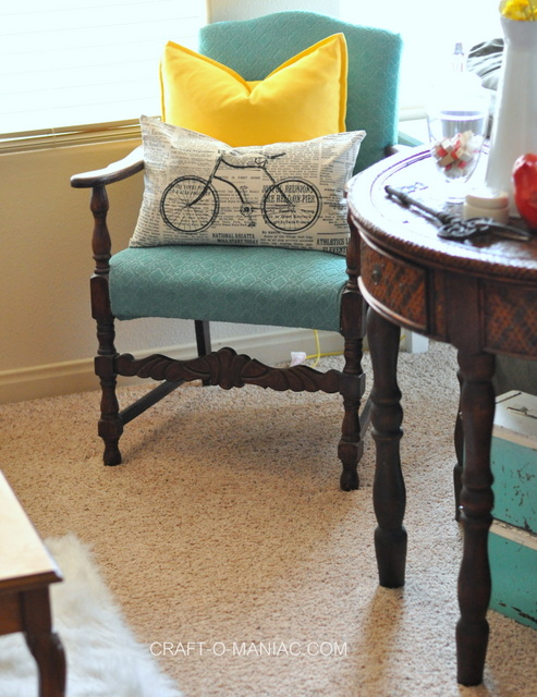 bicycle piano decor pillow
