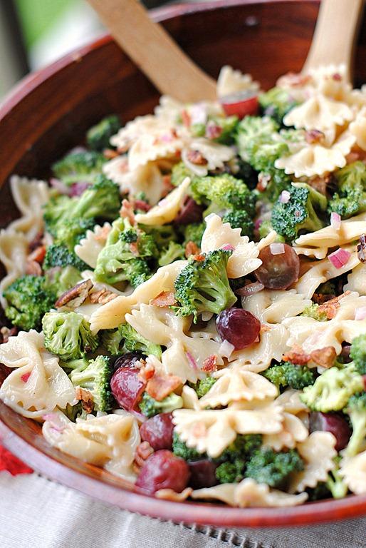 salad grape brocoli