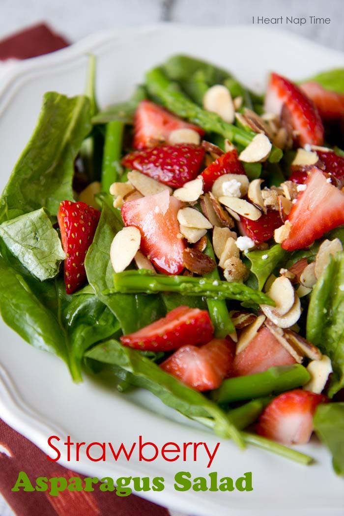 salad strawberry asparagus