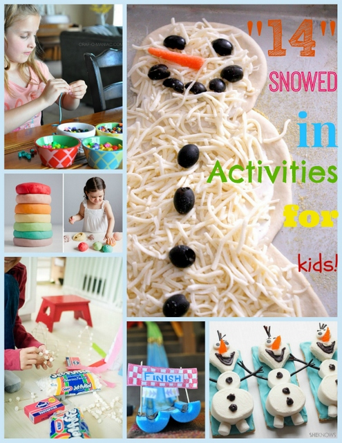 snowed in activity collagePM