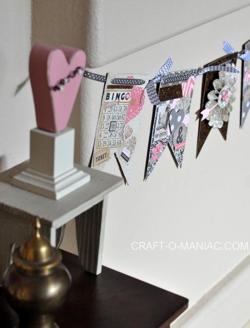 valentine pennant banner1