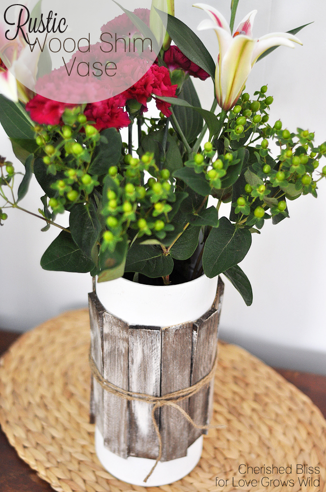 wood projects DIY-Wood-Shim-Vase