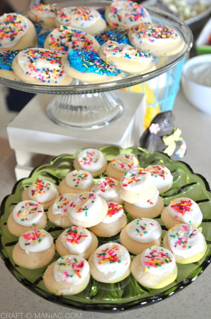 craft night cookies brighter