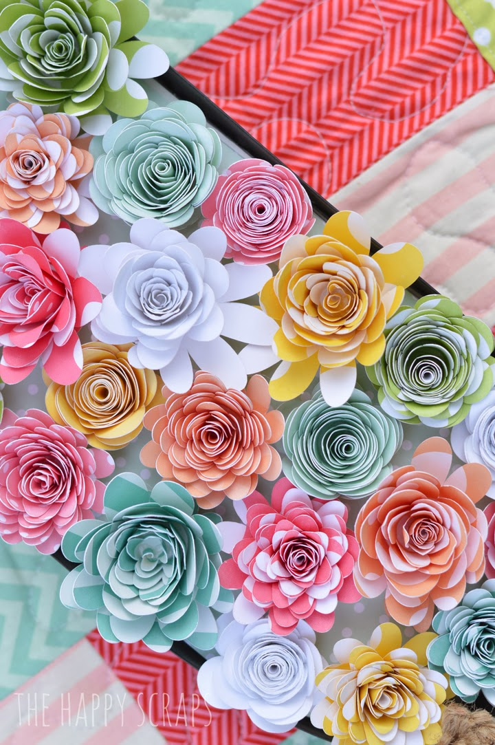 easter paper-flowers