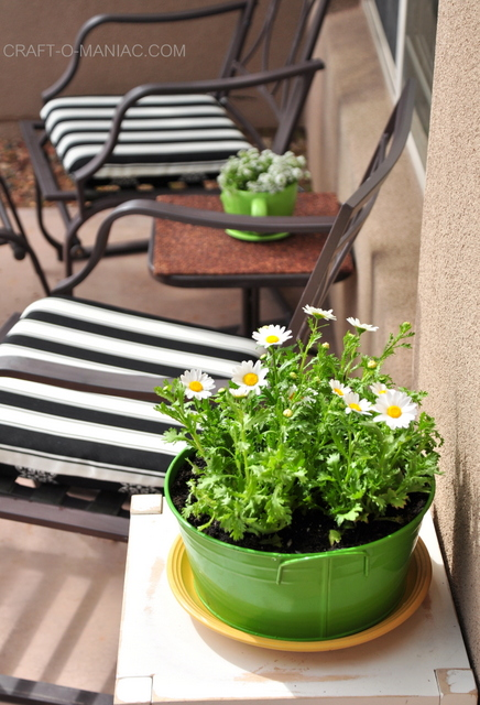 spring porch chairs side