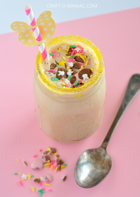 how to make a chocolate malt shake