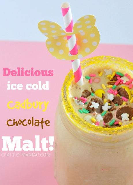 cadburry chocolate malt shake3pm1