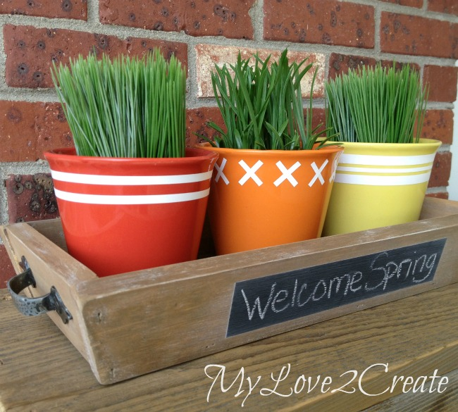 easy crafts MyLove2Create-outside