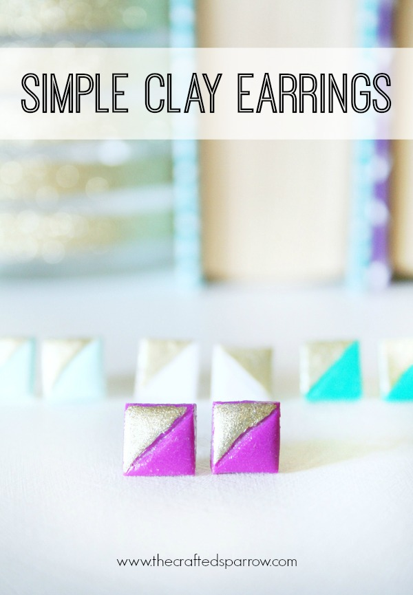 easy crafts Simple-Clay-Earrings-2