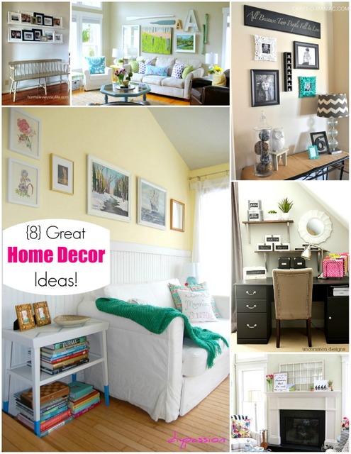 8 great home decor ideas for Great home interiors