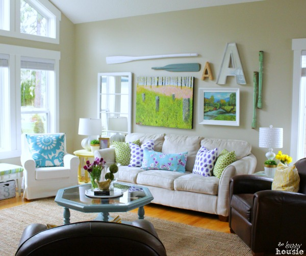 8 great home decor ideas - Home decorating ideas living room walls ...