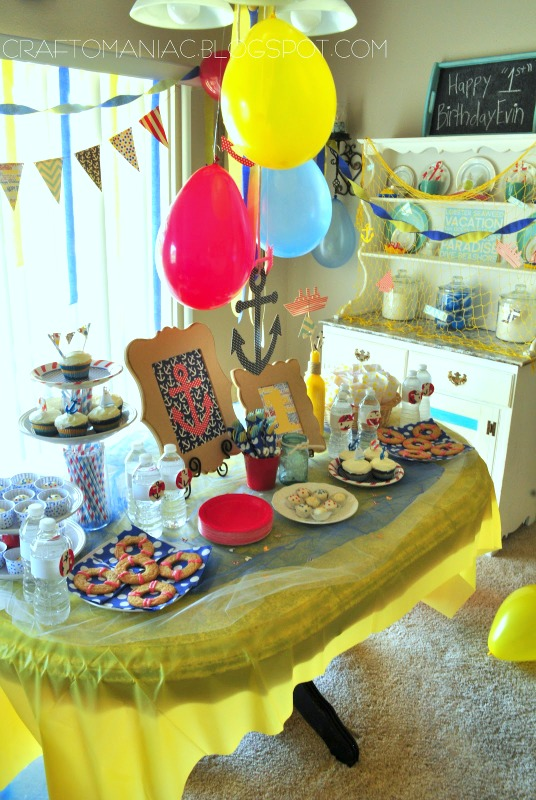 nautical birthday party