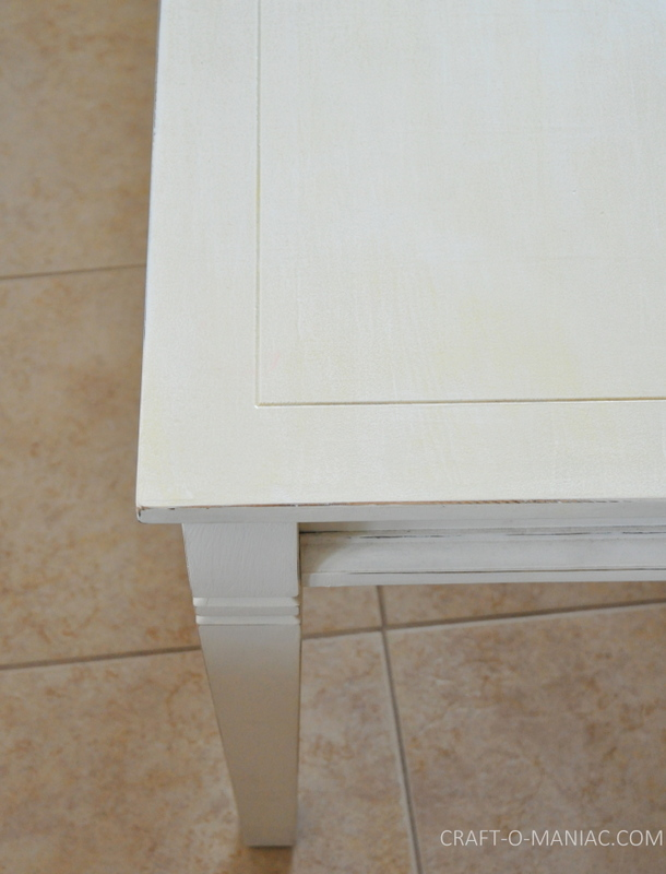 white end tables plain