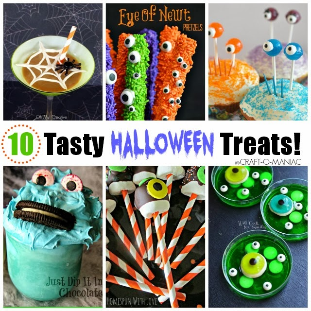 10 tasty halloween treats www.craft-o-maniac.com