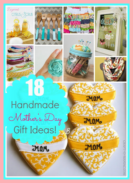 DIY Handmade Mothers Day Gift Ideas
