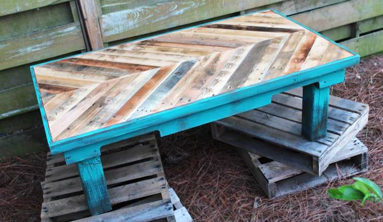diy home improvement pallet table
