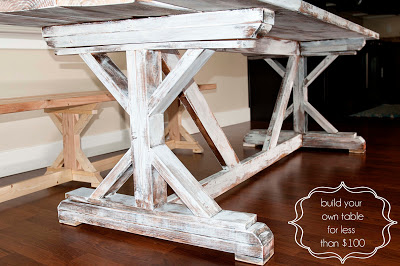 diy home improvement table finish5